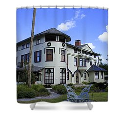 Stetson Mansion Shower Curtain by Laurie Perry
