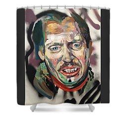 Steve Buscemi Shower Curtain by Britt Kuechenmeister