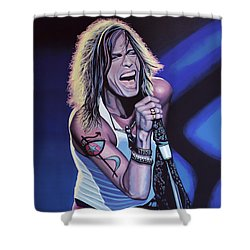 Steven Tyler 3 Shower Curtain by Paul Meijering