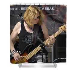 Stevie Conlon Tnt Chicago Band Shower Curtain