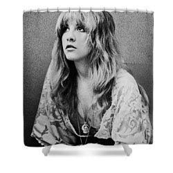 Stevie Nicks Shower Curtain