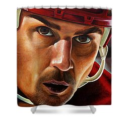 Stevie Y Shower Curtain by Marlon Huynh