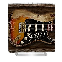 Stevie's Strat Shower Curtain