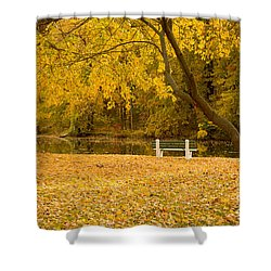Stewart Park Ithaca Shower Curtain
