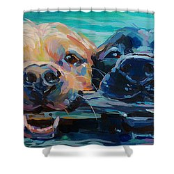 Stick It Shower Curtain