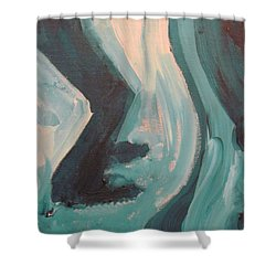 Still Dancing  Shower Curtain