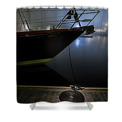 Shower Curtain featuring the photograph Still In The Fog by Marty Saccone