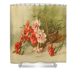 Still Life Of Flowers Shower Curtain