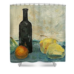 Still Life - Study Shower Curtain