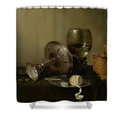 Still Life With A Gilt Cup Shower Curtain