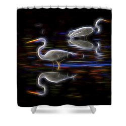Still Point Dancers 1 Shower Curtain