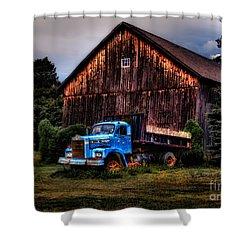 Still Truckin Shower Curtain by Susan Candelario