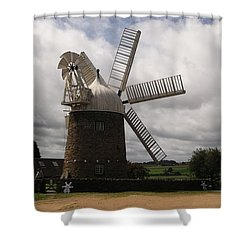 Shower Curtain featuring the photograph Still Turning In The Wind by Tracey Williams