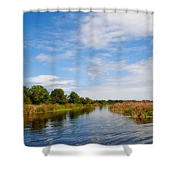 Shower Curtain featuring the photograph Still Water by Jean Haynes