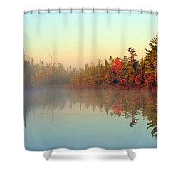 Still Water Marsh Shower Curtain