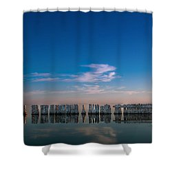 Still Water Shower Curtain