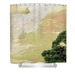 Stillness. Wicklow Mountains. Ireland Shower Curtain by Jenny Rainbow