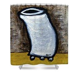 Stills 10-003 Shower Curtain by Mario Perron
