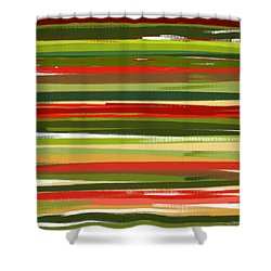 Stimulating Essence Shower Curtain by Lourry Legarde