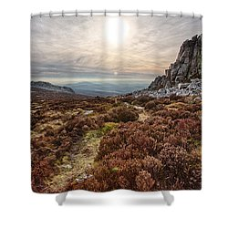 Stiperstones National Nature Reserve Shower Curtain