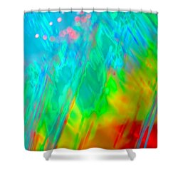 Stir It Up Shower Curtain by Dazzle Zazz