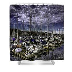 Shower Curtain featuring the photograph Stirring The Sky by Jean OKeeffe Macro Abundance Art