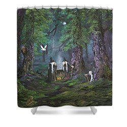 Stirring Up A Potion Shower Curtain