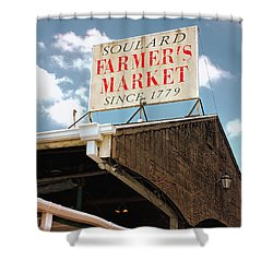 St.louis Market Shower Curtain
