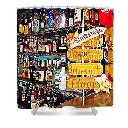 Stocked Bar At Jax Shower Curtain