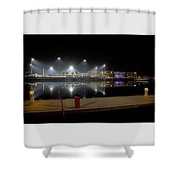 Stockton Stadium Shower Curtain