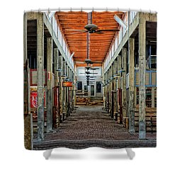 Stockyard Mall Shower Curtain