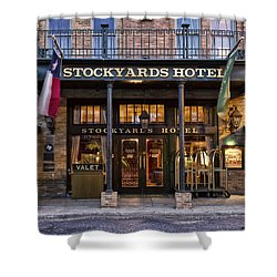 Stockyards Hotel Shower Curtain