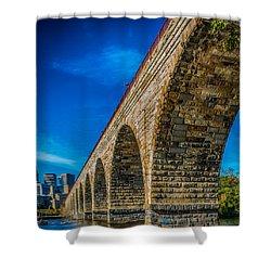 Stone Arch Bridge By Paul Freidlund Shower Curtain