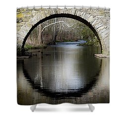 Stone Arch Bridge Shower Curtain