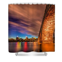 Stone Arch Minneapolis Shower Curtain by Mark Goodman