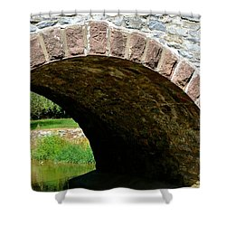 Stone Arch Shower Curtain