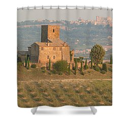 Shower Curtain featuring the photograph Stone Farmhouse by Marcia Socolik