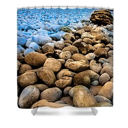 Stone Path Shower Curtain