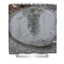 Shower Curtain featuring the photograph Stone Pool Angel by Brian Boyle