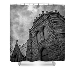 Stone Sky Shower Curtain
