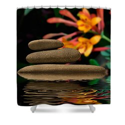 Stones 2 Shower Curtain