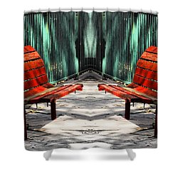 Stop And Relax Shower Curtain