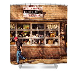 Store -  The Thrift Shop Shower Curtain by Mike Savad