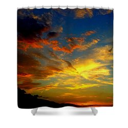 Storm Brings Beauty Shower Curtain