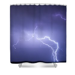 Storm Chase Six Twenty Eight Thirteen Shower Curtain by James BO  Insogna