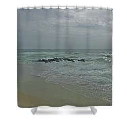 Storm In May Shower Curtain