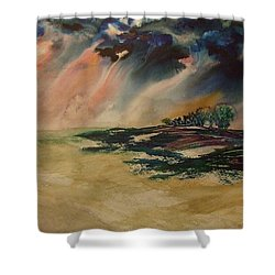 Storm In The Heartland Shower Curtain
