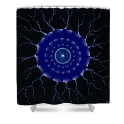 Storm. Shower Curtain