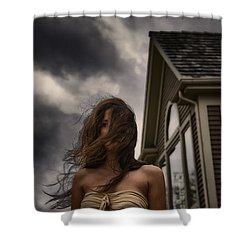 Storm Shower Curtain by Margie Hurwich