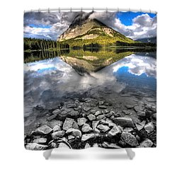 Storm Mountain II Shower Curtain